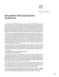 Lawa Org Chart Chapter 4 Simulation Tool Application Guidelines