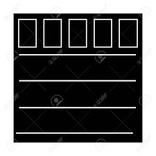 garage door icon over white background vector ilration stock vector 83304357