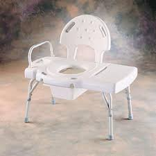 invacare bathtub transfer bench with commode