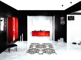 black and red bathroom accessories. Idea Black And White Bathroom Accessories Or Red Decorating