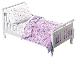 princess stars crown purple 4 piece toddler bedding set traditional kids bedding sets by chf industries