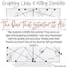 Graphing lines and killing zombies : Slopeinterceptform Instagram Posts Gramho Com