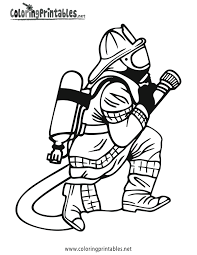 Small Picture Firefighter Coloring Pages GetColoringPagescom