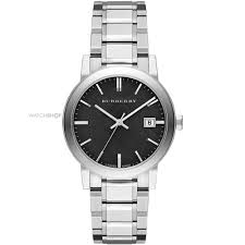 "men s burberry the city watch bu9001 watch shop comâ""¢ mens burberry the city watch bu9001"