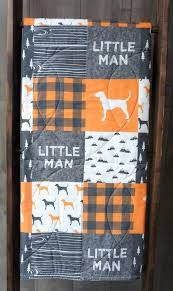 Barn Quilts By Melinda Quilts Of Valor Kits Baby Boy Quilt Baby ... & Barn Quilts By Melinda Quilts Of Valor Kits Baby Boy Quilt Baby Toddler  Blanket Woodland Dog Adamdwight.com