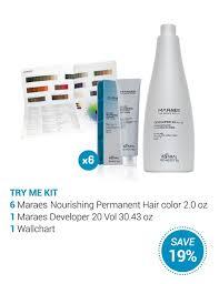 Maraes Hair Color Chart Maraes Try Me Kit