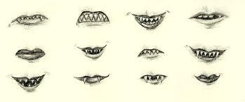 sharp teeth. troll teeth by red-thorn sharp f