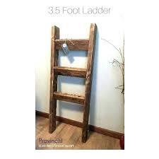 wood ladder towel rack wooden like this item rail freestanding nz woode