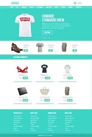 Free Ecommerce Website Templates Impressive Ecommerce Template Download Free Clean White Website Template
