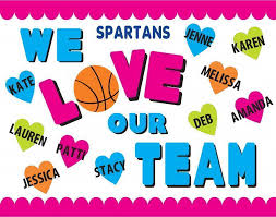 Create A We Love Out Team Poster Sports Cheer Poster Ideas