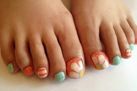 Cute Pedicure Designs Cool Pedicure Nail Art Ideas For Fall
