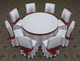 big round festive dining tables for the sims 4 6 8 seats