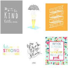 Nursery Decor Series 48 Free Printable Quotes For Kids