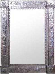 rectangle mirror frame. Exellent Frame Sometimes These Punched Tin Mexican Mirror Frames Look Awesome Some  Companies Make Them In Custom Sizes Online Inside Rectangle Mirror Frame R