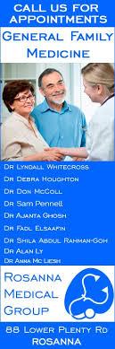 Rosanna Medical Group - Doctor - 88 Lower Plenty Rd - Rosanna