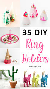 showcase your rings with these 35 stylish diy ring holders