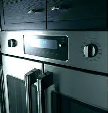 monogram french door oven wall double cafe vs single f ge h o monogram french door oven double wall