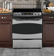 """ge profileâ""""¢ 30 slide in electric range ps905spss ge appliances product image product image"""
