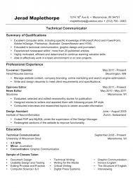 Free Resume Advice