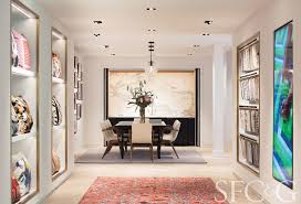 the central gallery of the new rug company showroom