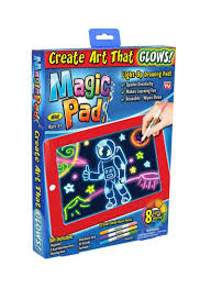 Light Drawing Toy Shop Generic Magic Pad Light Up Drawing Board Set Online In Dubai Abu Dhabi And All Uae