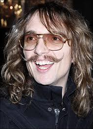 Justin Hawkins moustache Let's Not Get Carried Away