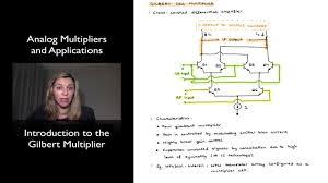 Gilbert Cell Design Intro To The Gilbert Multiplier
