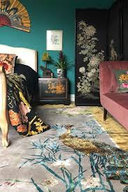 Wendy Morrison Chinese Garden of Virtue Hand Knotted Wool & Silk Rug |  Rockett St George