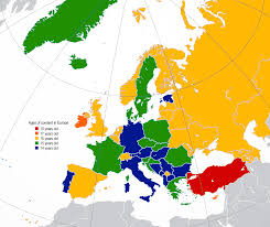 Consent Of To actually Date In Up Europe Age