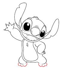How To Draw Stitch From Lilo And Stitch Bujo April Niedliche