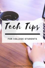 images about college success tips collegesuccess com this week i m sharing tech tips for college students brought to you by