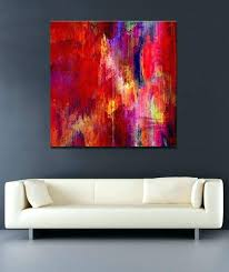 remarkable big canvas painting abstract art painting large canvas contemporary oil artwork prints for oversized