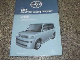 scion xb repair manual 2006 toyota scion xb electrical wiring diagram service shop repair manual ewd ne