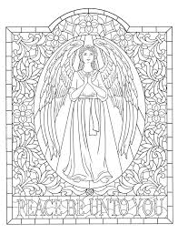 Angel Coloring Book Creative Haven Elegant Angels Coloring Book By