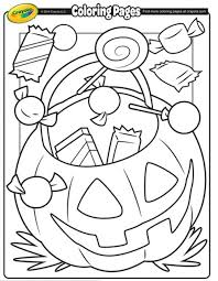 Free Crayola Halloween Coloring Pages Freebies Pinterest
