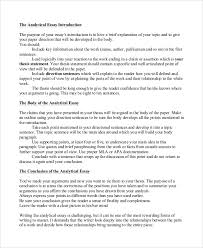 introduction essay examples sample self introduction speech analysis essay example 7 examples in pdf word