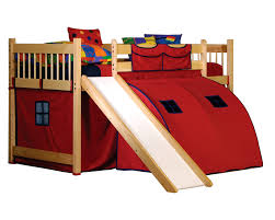 Image of Kids Bunk Bed With Slide