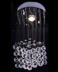 hot crystal ceiling lamp modern hanging light for home om6821