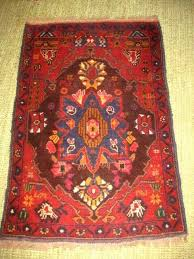 wool woven area rug blue red multicolor 54