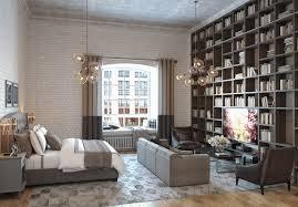 mezzanine furniture. Mezzanine Furniture. 4-loft-studio-apartment-with-mezzanine-brown Furniture N