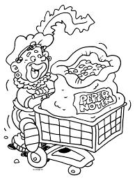 Zwarte Piet Koopt Veel Pepernoten Sinterklaas Kleurplaten