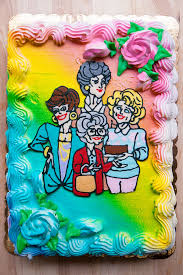 Golden Girls Cake And Six Years With Sprinkles On Top