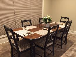 Refinished Kitchen Tables Dining Table Oak Dining Table Refinish Refinish Dining Room Table