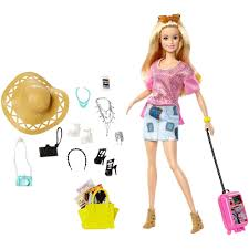 barbie vacation doll giftset1