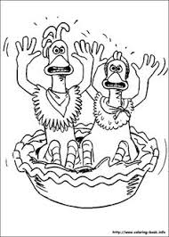 Small Picture Chicken Run coloring picture Coloring and Activities Pinterest