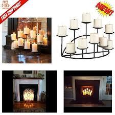 candle holders for fireplace mantel inspirational candle holder metal black floor candelabra mantel