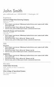 Resume Templates In Word Cool Resume Template Word Download Formatted Templates Example