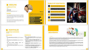 graphic design powerpoint templates 38 cool portfolio powerpoint templates desiznworld