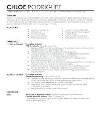 Entry Level Administrative Assistant Resume Samples Resume Samples Administrative Assistant Example Executive