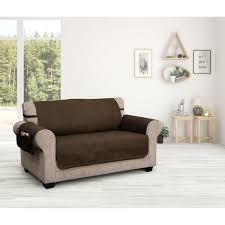 innovative textile solutions brushed faux leather slipcover